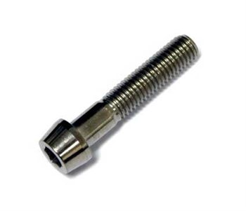 Lightening Bolts Titanium Seatpost Bolt - M8 Thread  - Click to view a larger image