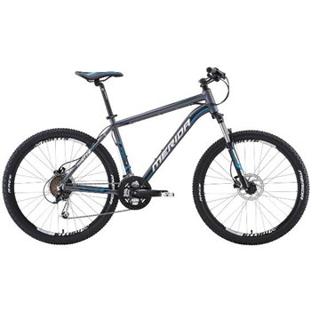 Merida Matts 70 26 Inch Hardtail - Black/ White/ Blue | TotalCycling.com