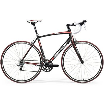 Merida Ride Lite 90 - Silk Black/ Red/ White  - Click to view a larger image