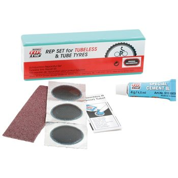 Rema Tip Top TT13 Tubeless & Tube Tyre Repair Set  - Click to view a larger image