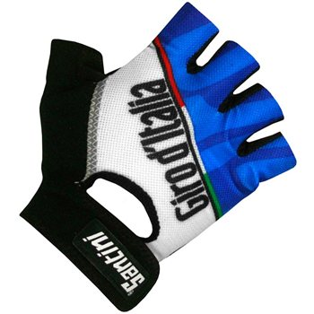 Santini Giro D'Italia Fashion Gel Race Mitts  - Click to view a larger image
