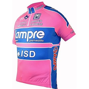 Santini 2011 Lampre Pro Cycling Team Short Sleeve Jersey  - Click to view a larger image