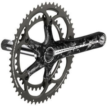 Campagnolo Athena 11sp Carbon 39/53 Power-Torque Crankset  - Click to view a larger image