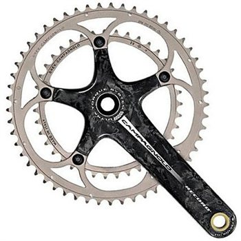 Campagnolo Record 10sp Ultra-Torque Crankset - 39/53  - Click to view a larger image