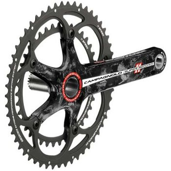 Campagnolo Super Record 11sp 39/53T Crankset - With Titanium Axle  - Click to view a larger image
