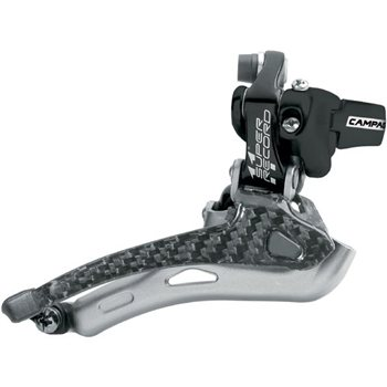 Campagnolo Super Record 11 Speed Front Derailleur - Clamp Type 2010  - Click to view a larger image