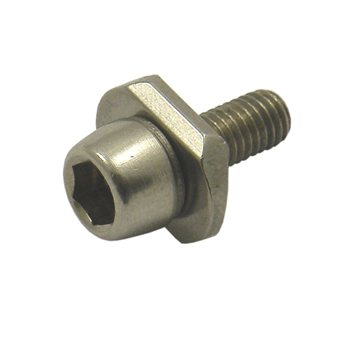 Campagnolo Braze On Front Derailleur Mounting Bolt With Captive Washer - Steel FD-VL102  - Click to view a larger image