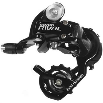 SRAM Rival 10sp Rear Derailleur - Black  - Click to view a larger image