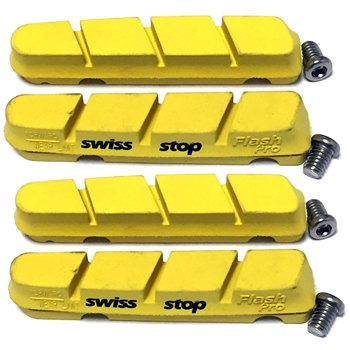 SwissStop Flash Pro  Brake Pads For Shimano/ SRAM - Yellow  - Click to view a larger image