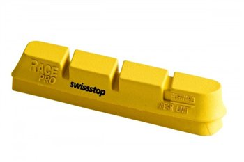 SwissStop Race Pro Brake Pads For Campagnolo/Zero Gravity - Yellow King  - Click to view a larger image