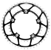 TA Hegoa Inner Chainring For Shimano - 130 BCD Black