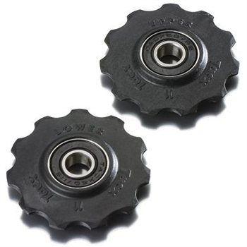 Tacx T4060 Jockey Wheels with Sealed Bearings - Shimano 9 & 10 Speed  - Click to view a larger image