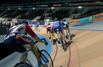 Tacx Real Life Video - Velodrome Terrain Software  - Click to view a larger image