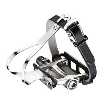 Token Alloy Track Pedal with Toe Clip TK456