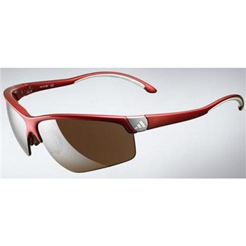 Adidas Adivista Sunglasses - Shiny Red  - Click to view a larger image