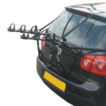 Hollywood Express 3 Bike Car Rack  - Click to view a larger image