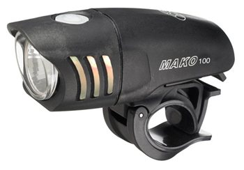 NiteRider Mako 100 Front Cree LED Light - 100 Lumen  - Click to view a larger image