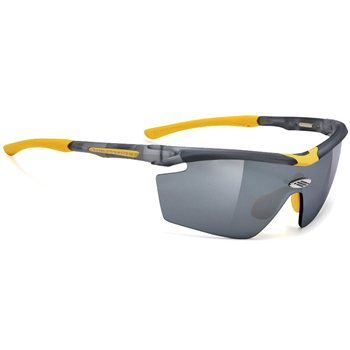 Rudy Project Genetyk Glasses - Frozen Ash With Laser Black Lenses  - Click to view a larger image