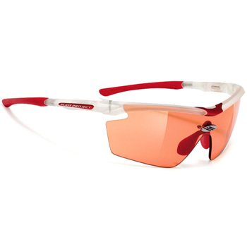 Rudy Project Genetyk Glasses - Frozen Crystal With Red Photochromatic Lenses  - Click to view a larger image