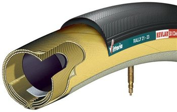 Vittoria Rally Tubular Tyre   - Click to view a larger image