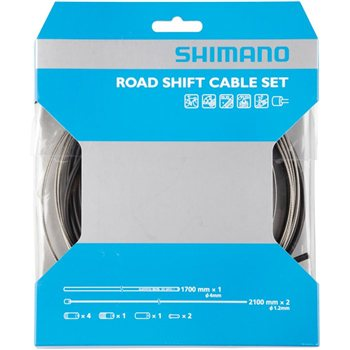 Shimano 105/ Ultegra Shift Cable Set - With Stainless Inner Wires  - Click to view a larger image