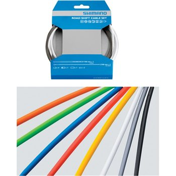 Shimano Gear Cable Set - Teflon Coated Inner Wire  - Click to view a larger image