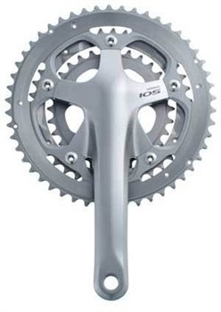 Shimano 105 5600 Series 10sp Triple Crankset  - Click to view a larger image