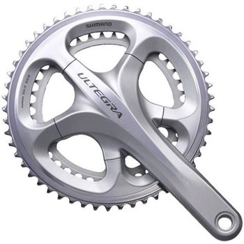 Shimano Ultegra 6700 10sp 39/53 Double Crankset  - Click to view a larger image