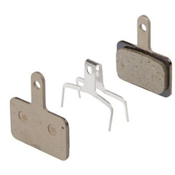 Shimano B01S ResinDisc Brake Pads with Pins  - Click to view a larger image