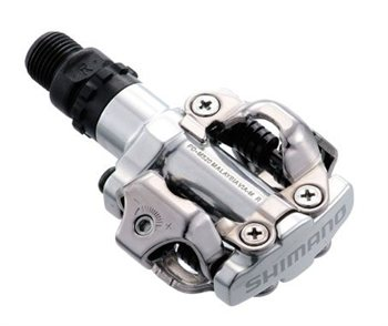 Shimano M520 Mountain Bike SPD Pedals - Silver 1