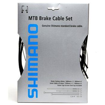 Shimano MTB Brake Cable Set  - Click to view a larger image