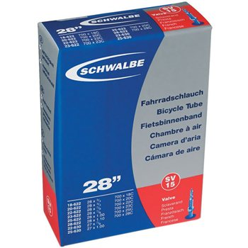 Schwalbe SV15 Inner Tube - 700c x18-28mm  - Click to view a larger image