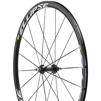 Mavic Ellipse Clincher Track Wheel - Front   - Click to view a larger image