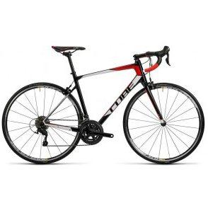Cube Attain GTC Road Bike 2016 - Carbon N Red