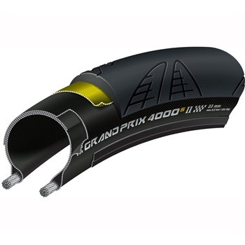 Continental GP4000S II Clincher Tire - 700c  - Click to view a larger image