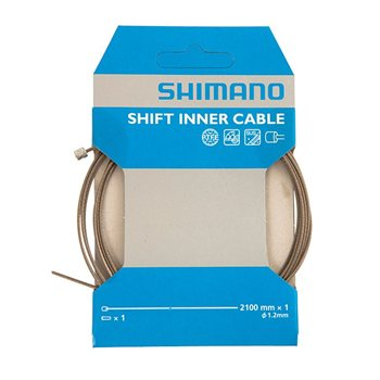 Shimano PTFE Coated Stainless Steel Gear Inner Wire  - Click to view a larger image