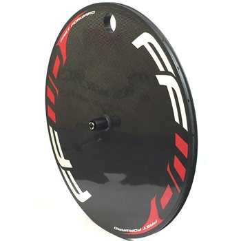 Fast Forward Full Carbon Lenticular Disc Wheel - Clincher  - Click to view a larger image