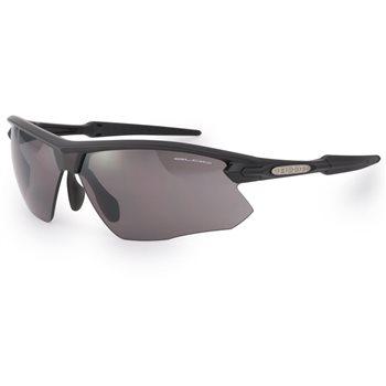 Bloc Fox X761 Sunglasses - Matt Black Grey Lens  - Click to view a larger image