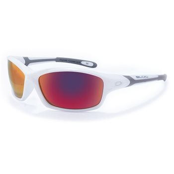 Bloc Daytona Sunglasses XWR60 - White / Red Mirror Lens  - Click to view a larger image