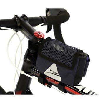 Axiom Frame Bag Gran-Fondo Smartbag Grey/Black  - Click to view a larger image