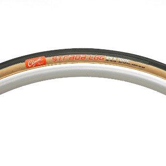 Clement Strada LGG 700c x 25 60TPI Black/Tan Clincher Tyre