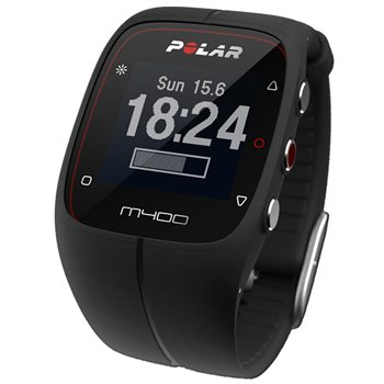 Polar M400 GPS Sports Watch with Heart Rate Strap  - Click to view a larger image