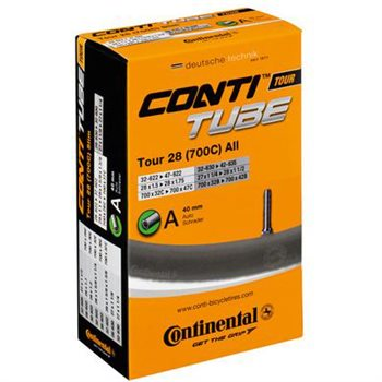 Continental Tour 28 (700c) 40mm Schrader Valve (32-47mm)  - Click to view a larger image