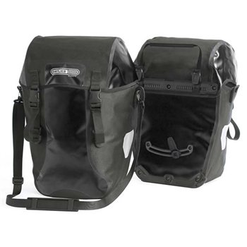 Ortlieb Bike Packer Classic 40L Waterproof Pannier Pair With QL1 Mounting System  - Click to view a larger image