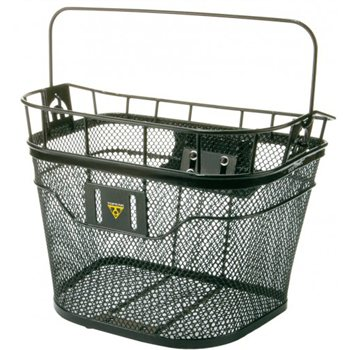 Topeak Fixer 3 Front Basket With Adaptor  - Click to view a larger image