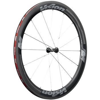 Vision Metron 55 Tubless Ready Clincher Wheelset - Rim Brake  - Click to view a larger image