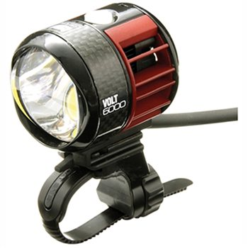 Cateye VOLT 6000 USB Rechargeable hi power headlight -  HL-EL6000RC  - Click to view a larger image
