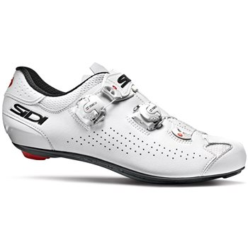 Sidi Genius 10 Road Cycling Shoes - White  - Click to view a larger image