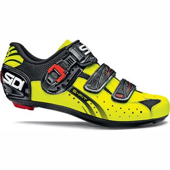 Sidi Genius 5-fit Carbon - Black/Fluorescent Yellow  - Click to view a larger image