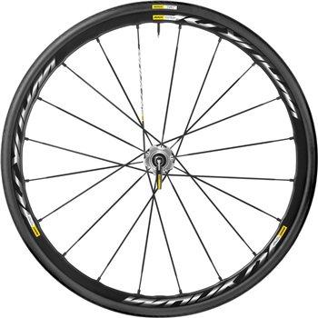 Mavic Ksyrium Pro Disc 16 INTL Wheel & Tyre - 2016  - Click to view a larger image